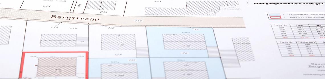 einf gungsnachweis 34 baugb vermessung rls. Black Bedroom Furniture Sets. Home Design Ideas